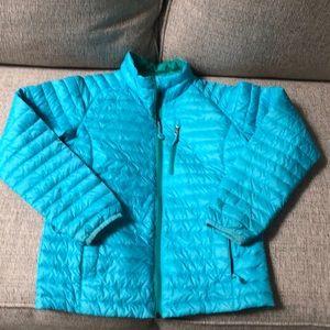 LL Bean lightweight water repellent downtek jacket